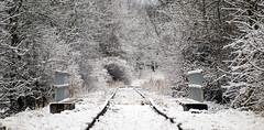 P1148656 (Dreamaxjoe) Tags: snow winter hó budapest vasút railway outofservicerailroadtrack