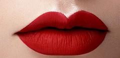 red lips (zikade) Tags: rotelippen redlips lippenstift rot lippen mund