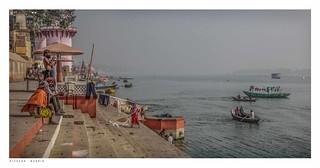 By the Ganges, Varanasi.