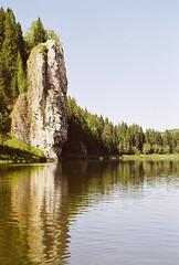 Мосин Камень (SorniNai) Tags: 35mm 35mmfilm film nature ural uralmountains river russia mountains rock stone forest чусовая река урал 35mmfilmphotography filmphoto