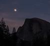 Moon Rise, Half Dome, YNP (Basak Prince Photography) Tags: california nationalpark places yosemitenp findyourpark halfdome instgrampost moonrise winter yosemitenationalpark