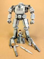 Big uncle mech (vikingforhire) Tags: lego mech mecha military future scifi weaponized moc