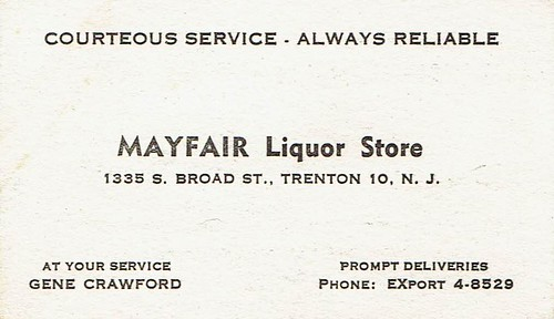 Flickriver most interesting photos from franklin park trenton nj business card mayfair liquor store trenton nj reheart Image collections