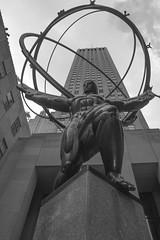 Atlas_1 (CURZU@) Tags: nuevayork nycusa newyorkcity newyork bw monocromo rockefeller center