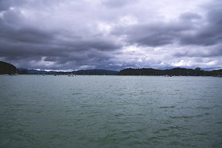 On the ferry in the bay of islands