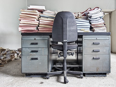 Stack of files (Anita van Rennes) Tags: smileonsaturday stacked files office