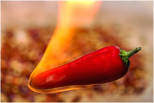 Macro Mondays – Flamin' Hot Chilli