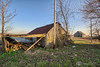 Log Shed (AP Imagery) Tags: demolished log abandoned barn building ky kentucky shed razed cabin farm iceland rd structure maceo