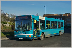 Arriva Midlands 2737 (Jason 87030) Tags: arriva midlands hickley hincleybus leicester x84 service route lutterworth roundabout light color colour bus vehicle wheels sony ilce alpha a6000 lens tag flickr fave group album rugby warks warwickshire january 2018 2737 cx04ehz wright cadet blue turquoise