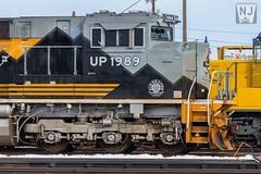 """Scenic Line of the World"" (Nathan Jurgensen) Tags: union pacific kearney sub north platte nebraska railroad railway railfan train rio grande heritage unit emd electromotive diesel"
