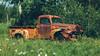jus' stayin' put (Marty Hogan) Tags: us41 menomineecounty upperpeninsula michigan fordtruck rust abandoned outinafield