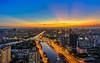 Saigon sunset @ Nguyen Van Cu bridge 2018 (daihocsi [(+84) 918.255.567]) Tags: saigon sunset ray