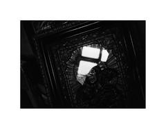 Light (kotmariusz) Tags: reflection window picture glass madonna poland monochrome blackandwhite 35mm filmphotography