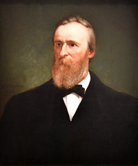 Rutherford B. Hayes, 1822-1893 Nineteenth president of the United States, 1877-1881 (trphotoguy) Tags: rutherfordbhayes eliphaletandrews nationalportraitgallery washingtondc smithsonian americanpresidents portrait 50mmf14d
