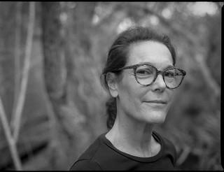 Aimee Farnet Siegel, artist, Atlantic Center for the Arts, New Smyrna Beach, FL, mamiya 645 pro, mamiya sekor 80mm f-2.8, late January, 2018