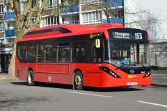 LJ67 DLE (SEe73) Go-Ahead London Central (hotspur_star) Tags: londontransport londonbuses londonbus londonbuses2018 byd alexanderdennisltd electricbus tfl transportforlondon busscene2018 singledeck goaheadlondoncentral lj67dle see73 153