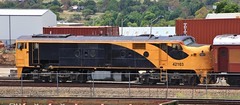 42103 stabled in Goulburn's CFCLA workshops area (bukk05) Tags: 42103 421class aj16c emd16567c railpage:class=103 railpage:loco=42103 rpaunsw421class rpaunsw421class42103 nswgr world wagons explore export engine emd electromotivediesel railway railroad railpage rp3 rail railwaystation railwaystations train tracks tamron tamron16300 trains yard photograph photo loco locomotive horsepower hp flickr diesel dieselelectriclocomotive station standardgauge sg summer goulburn australia artc zoom canon60d canon clyde clydeengineering nsw newsouthwales nswr mainline cfcla workshop qrn qrnational aurizon 2017 southerntablelands goulburnmulwareecouncil