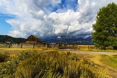 Stormy Tetons (Rob van Loon Photography) Tags: grandteton national park nps wyoming clouds storm sony a6300 samyang landscape barn mormon