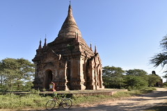 _DSC0254 (lnewman333) Tags: bagan myanmar burma sea southeastasia asia ancient temple buddhist buddhism pagan pagoda bike bicycle