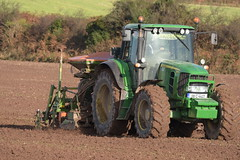 John Deere 6930 Tractor with an Amazone AD-PL302 Seed Drill & Power Harrow (Shane Casey CK25) Tags: john deere 6930 tractor amazone adpl302 seed drill power harrow jd green leamlara traktori traktor trekker tracteur trator ciągnik sow sowing set setting drilling tillage till tilling plant planting crop crops cereal cereals county cork ireland irish farm farmer farming agri agriculture contractor field ground soil dirt earth dust work working horse horsepower hp pull pulling machine machinery grow growing nikon d7200