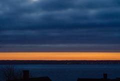 Sky over Denmark (frankmh) Tags: sky cloud sunset hittarp öresund sweden denmark outdoor