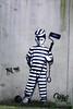 Prisoner of Art (by BustArt) (Red Cathedral uses albums) Tags: redcathedral aztektv sony alpha slt mkii sonyalpha a77ii a77 dslr sonyslta77ii translucentmirrortechnology wanderlust digitalnomad streetart urbanart contemporaryart graffiti protest activism alittlebitofcommonsenseisagoodthing travellingphotographer travel antwerpen 2030 antwerp luchtbal
