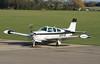 N121JF Sywell 19-01-18 (IanL2) Tags: beechcraft bonanza sywell aerodrome aircraft n121jf