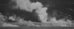 Geyser (shishirmishra1) Tags: black white geyser yellowstone national usa travel explore natural park landscape