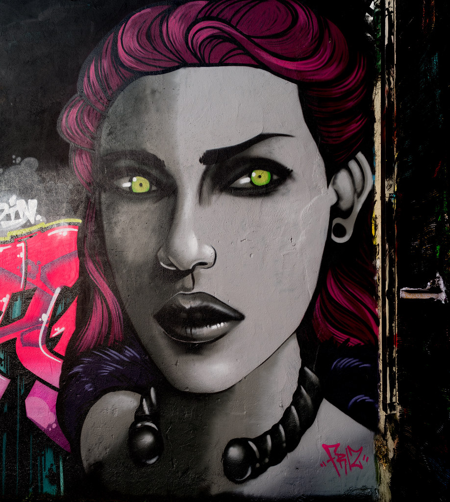 STREET ART AT THE TIVOLI CAR PARK IN DUBLIN [LAST CHANCE BEFORE THE SITE IS REDEVELOPED]-135596