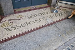 Northern Assurance Buildings, Manchester, UK (Robby Virus) Tags: manchester england uk unitedkingdom britain greatbritain british architecture northern assurance insurance building buildings waddington sons tile tiles tiled entry entrance floor entryway front door