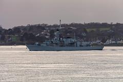 HMS Westminster 5th November 2017 #1 (JDurston2009) Tags: f237 hmswestminster devon dukeclass frigate hamoaze plymouth rivertamar royalnavy type23 warship