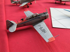North American T-6 Air France (chrispit1955) Tags: cmafig kit plastique montage expo club