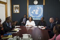Visit of Ms. Bintou Keita, Assistant-Secretary-General for Peacekeeping Operations in Haiti (MINUJUSTH UN) Tags: haiti minujusth uneted nations unies mission baumann asg visit bintou keita assistantsecretarygeneral for peacekeeping operations leonora nationsunies un unetednations nationunis unitednations hti
