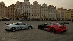 R35 & Atenza Prague (jandengel) Tags: granturismo gt gts car scapes game ps4 polyphony nissan r35 mazda atenza group4 group3 racecar