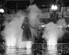 CRW_5358 (agianelo) Tags: girl steam fountain public square monochrome bw blackandwhite