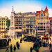 Digital+Pastel+Drawing+of+Amsterdam%27s+Dam+Square+by+Charles+W.+Bailey%2C+Jr.