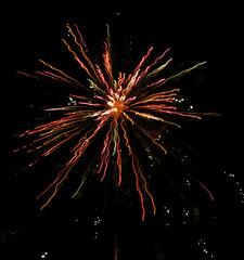 Vivid Celebration (Essay by SA) Tags: firework fireworks bright colors brightcolors blackbackground midnight newyearseve newyears newyear celebrate celebration night vivid