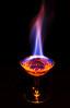MacroMondays - Flame (Janos Kertesz) Tags: rum black glass fire hot red flame alcohol drink yellow heat background burn transparent macromondays