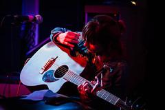 Laura Stevenson (jmcguirephotography) Tags: punk indie emo folk acoustic live concert guitar looseys gainesville florida canon canon40d 40d laurastevenson dongiovannirecords rogerharvey duet