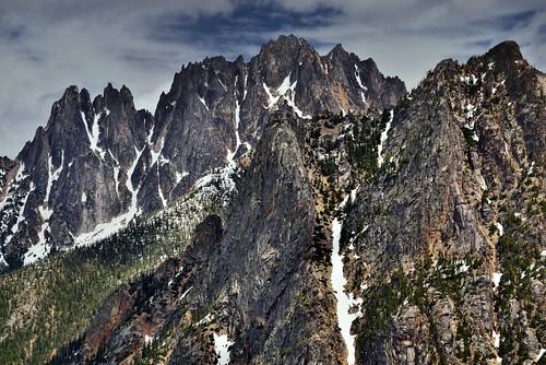 Jagged Peaks Along the Vasiliki Ridge