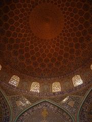 P9254660 (bartlebooth) Tags: esfahan esfahanprovince isfahan isfahanprovince iran persia middleeast mosque masjid sheikhlotfollahmosque sheikhlotfollah unesco tile blue iranian architecture naqshejahansquare mosaic olympus e510 evolt silkroad