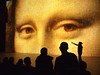 Mona Lisa in Deep Space 8K (Ars Electronica) Tags: culturalheritage deepspace8k art kunst technologie tech technology wissenschaft science gigapixel image bild linz austria arselectronica arselectronicacenter painting monalisa 2018