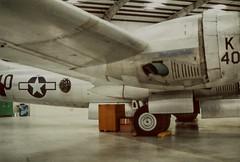 Pima B29 94-2'-22 (wbaiv) Tags: boeing b29a usaac united states army air corps pima museum indoor storage tucson arizona 1994 feb 20 space aircraft airplane plane