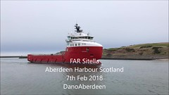FAR Sitella - Aberdeen Harbour Scotland - 7/2/2018 (DanoAberdeen) Tags: iphone7plus iphonevideo iphone mp4 4k mpeg video farsitella danophotography aberdeen amateur autumn aberdeenscotland aberdeencity abdn aberdeenharbour scotland spring scotia scottish schotland seafarers škotija seaport offshore oilships oilrigs oilfields offshoreships offshorevessels offshoresupplyship offshoresupplyships 2018 tug tugboat candid cargoships seascape grampian geotagged gb psv uk shipspotters shipspotting ships boats vessels maritime pocraquay northsea bluesky northseasupplyships northseasupplyvessels northeastsupplyvessels northeastsupplyships wasser dano dockyard dockside fittie footdee oilandgas