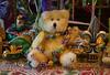 "Have a ""Beary"" Happy Mardi Gras! (BKHagar *Kim*) Tags: bkhagar bear teddy teddybeartoy animal stuffed fuzzy beads mardigras htbt fleurdelis priscilla"