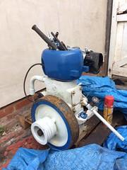 Wolseley WD8. (fmjack1) Tags: wolseley wd8 ruston petrol stationary engine