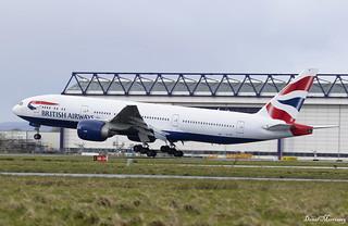 British Airways 777-200(ER) G-VIIG