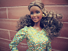 (Linayum) Tags: barbie barbiedoll barbiecurvy curvybarbie mattel afrobarbie barbielook doll dolls muñeca muñecas toys juguetes linayum