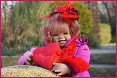 Sanrike ... mein Herz für ... (Kindergartenkinder) Tags: sanrike kindergartenkinder annette himstedt dolls gruga grugapark essen