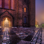 Roskilde Cathedral By Night thumbnail